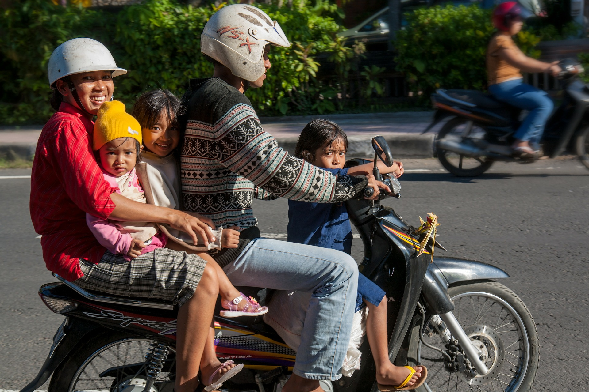 bali family scooter